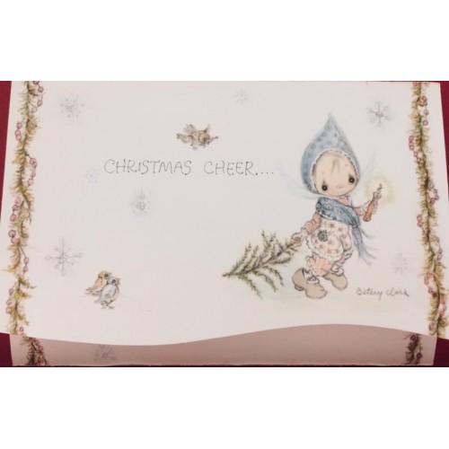 Postalete Antigo Importado Betsey Clark - Christmas