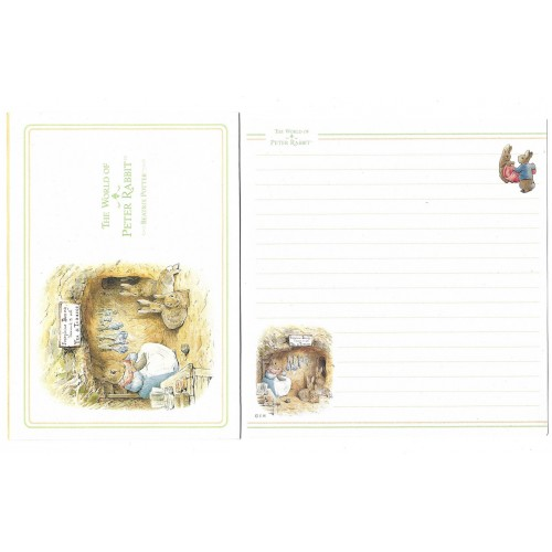 Conjunto de Papel de Carta Importado Peter Rabbit CVD