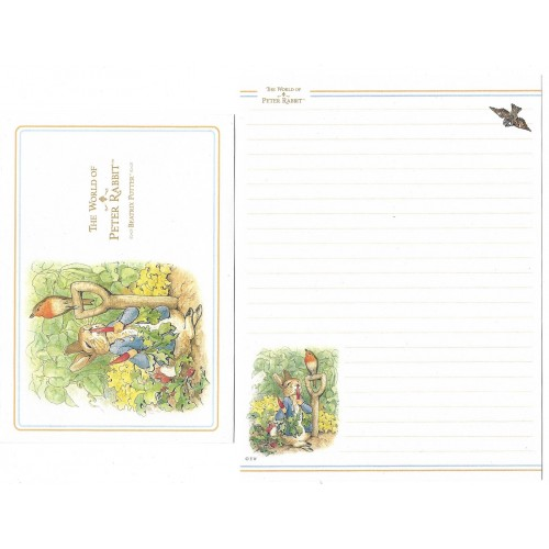 Conjunto de Papel de Carta Importado Peter Rabbit CAZ