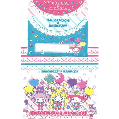 Ano 2018. Kit 2 Conjuntos de Papel de Carta My Melody & Sailor Moon