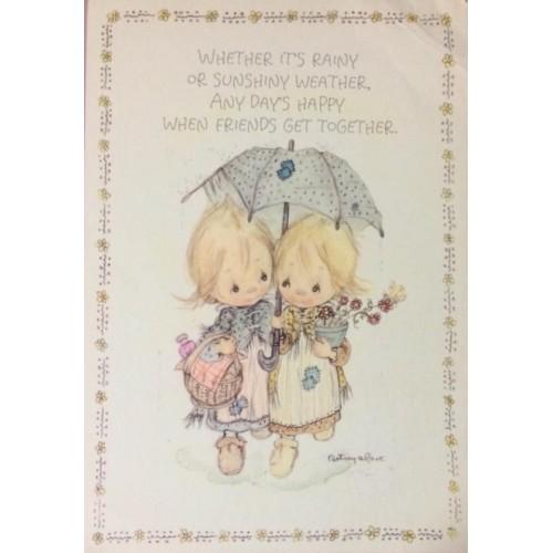 Cartão Postal ANTIGO Betsey Clark - G90