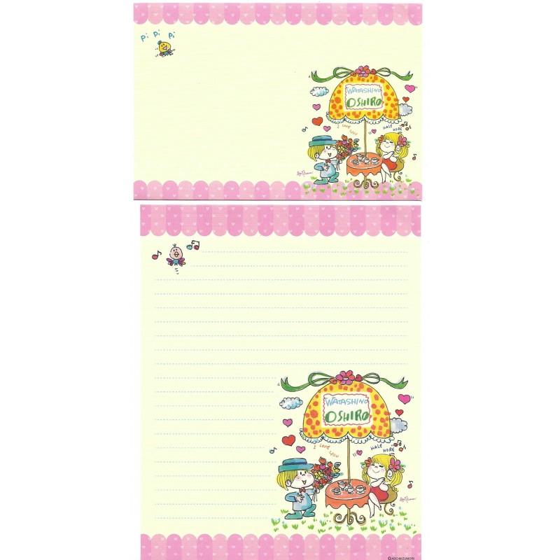 Conjunto de Papel de Carta com envelope ADO MIZUMORI 0061