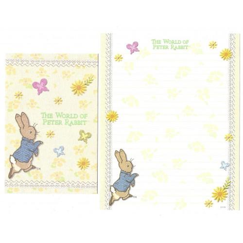 Conjunto de Papel de Carta Importado Peter Rabbit CRE