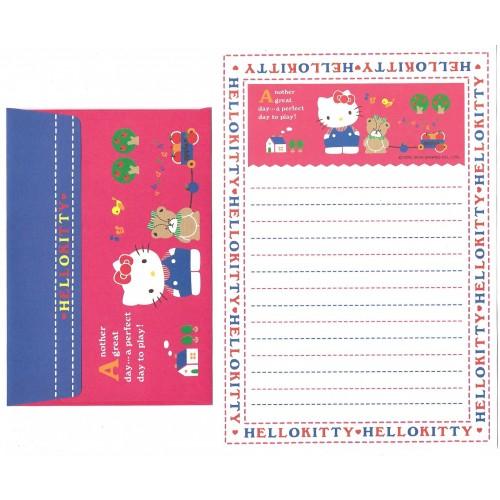 Ano 2004. Conjunto de Papel de Carta Hello Kitty Best Collection 25 Sanrio