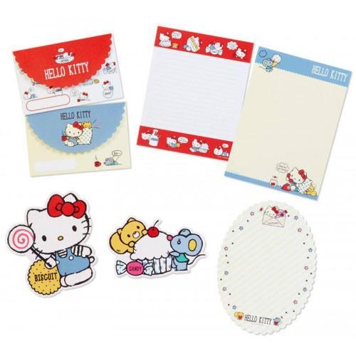 Ano 2018. Kit 2 Conjuntos de Papel de Carta Hello Kitty Sanrio