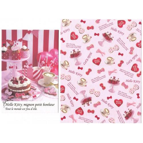 Ano 2014. Conjunto de Papel de Carta Hello Kitty Mignon Petit Sanrio