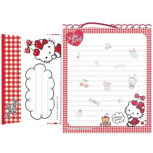 Ano 2014. Conjunto de Papel de Carta Hello Kitty Mmm Sweet 1 Sanrio