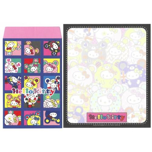 Ano 2013. Conjunto de Papel de Carta Hello Kitty Lucky 5 Sanrio