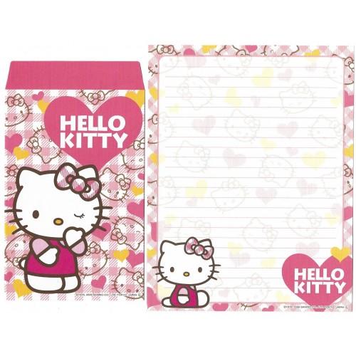 Ano 2009. Conjunto de Papel de Carta Hello Kitty TT CRSB Sanrio
