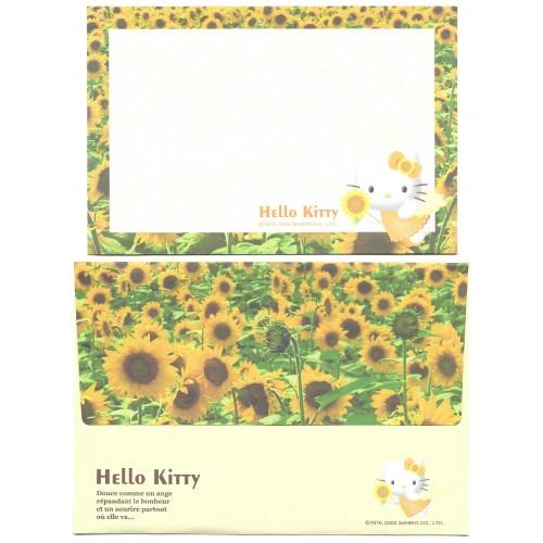 Ano 2003. Conjunto de Papel de Carta Hello Kitty Angel CAM Sanrio