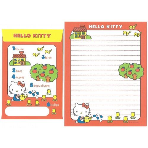 Ano 2009. Conjunto de Papel de Carta Hello Kitty 35th C10 Sanrio