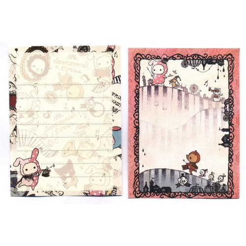 Kit 2 MEMOS Sentimental Circus M1 SanX