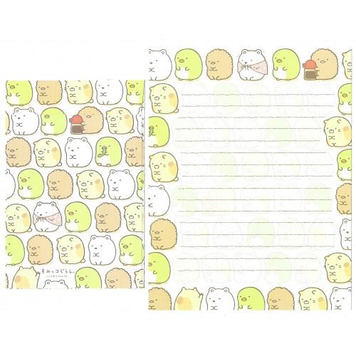 Conjunto de Papel de Carta Sumikko Gurashi 4 SAN-X