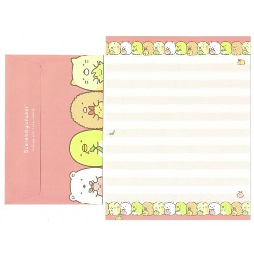 Conjunto de Papel de Carta Sumikko Gurashi 6 SAN-X