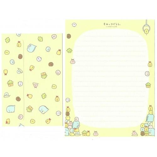 Conjunto de Papel de Carta Sumikko Gurashi 7 SAN-X
