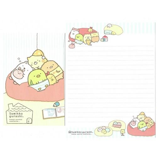 Conjunto de Papel de Carta Sumikko Gurashi 11 SAN-X