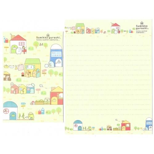 Conjunto de Papel de Carta Sumikko Gurashi 12 SAN-X