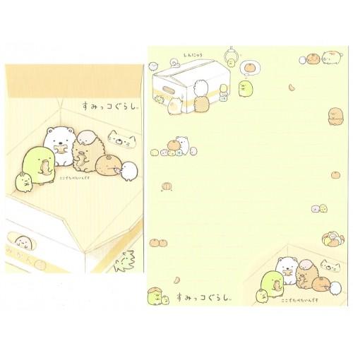 Conjunto de Papel de Carta Sumikko Gurashi 14 SAN-X
