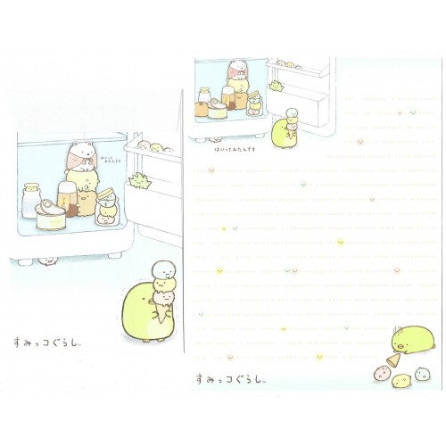 Conjunto de Papel de Carta Sumikko Gurashi 16 SAN-X