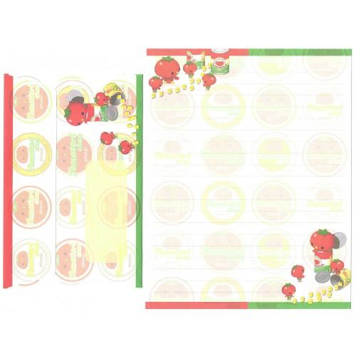 Conjunto de Papel de Carta Importado Tomatori Chan - San-X