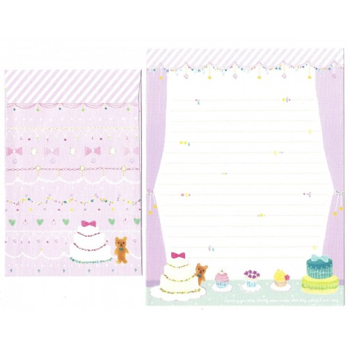 Conjunto de Papel de Carta Importado Colorful - San-X