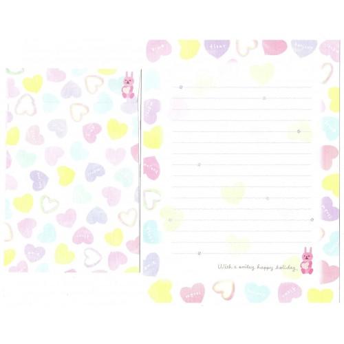 Conjunto de Papel de Carta Importado Fleur - San-X