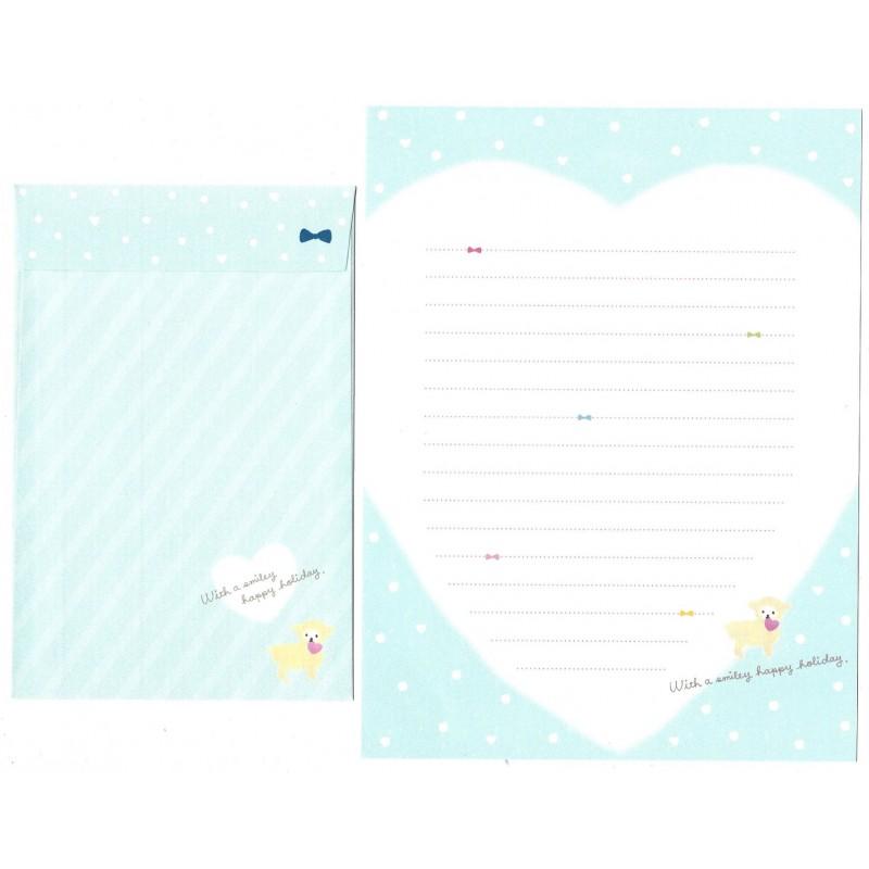 Conjunto de Papel de Carta Importado Smiley - San-X