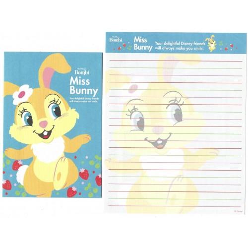 Conjunto de Papel de Carta Disney Bambi Miss Bunny D1