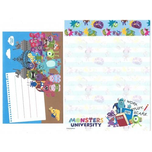 Conjunto de Papel de Carta Disney/Pixar Monsters University WSS