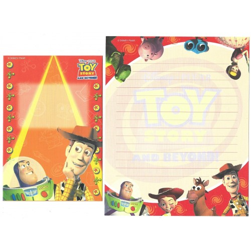 Conjunto de Papel de Carta Disney/Pixar Toy Story and Beyond