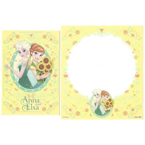 Conjunto de Papel de Carta Disney Frozen - Elsa & Anna (AM)