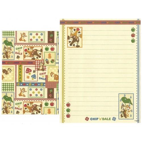 Conjunto de Papel de Carta Disney Chip & Dale Japan