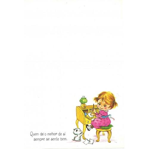 Coleção Paula Y06. Papel de Carta Avulso