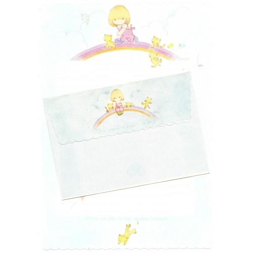 Conjunto de Papel de Carta Antigo (Vintage) Arisu No Heya (CAZ) Tai