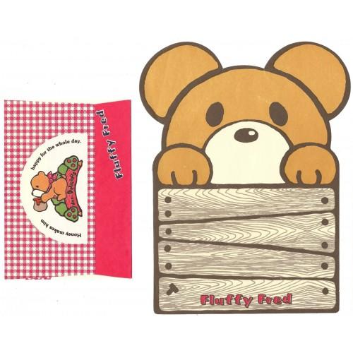 Conjunto de Papel de Carta Antigo Fluffy Fred (CBG)
