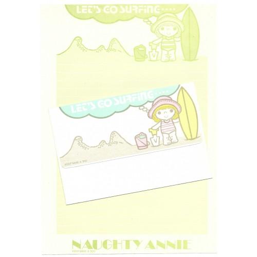 Conjunto de Papel de Carta Antigo Naughty Annie CVD