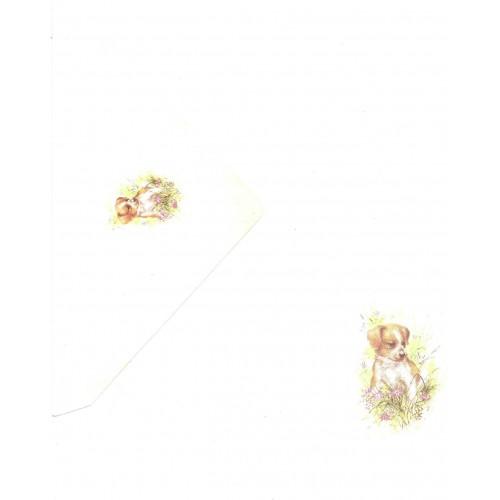 Conjunto de Papel de Carta Antigo Coleção Kartos - Cachorro 5