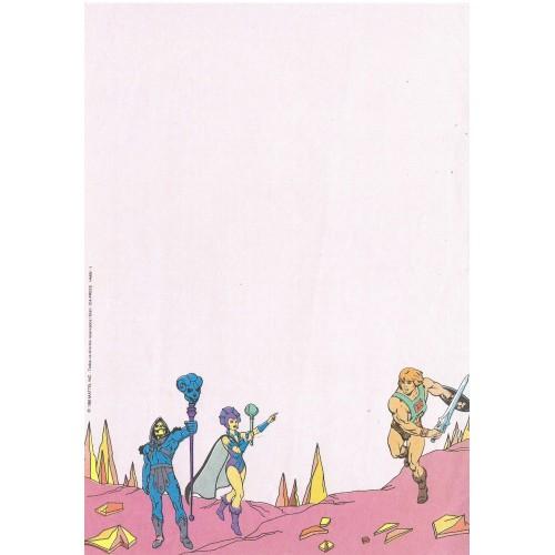 Ano 1986. Papel de Carta Antigo HE-MAN HMW-1