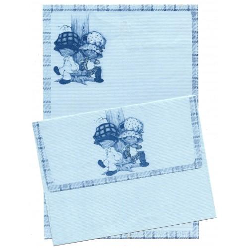 Conjunto de Papel de Carta Antigo Bonnie Bonnets CAZ