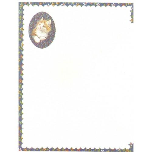 Conjunto de Papel de Carta Antigo Importado CFL