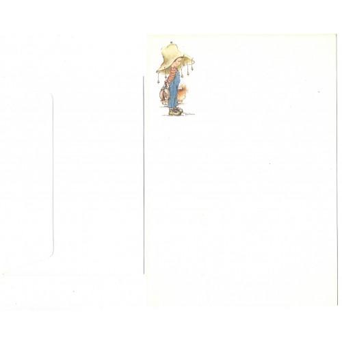 Conjunto de Papel de Carta Antigo Importado Dog2 - Kim Tania