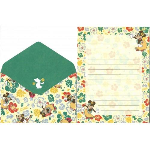 Conjunto de Papel de Carta Mickey - DAISO