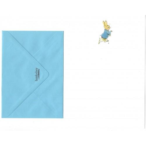 Conjunto de Papel de Carta ANTIGO Importado Peter Rabbit Hunkydory