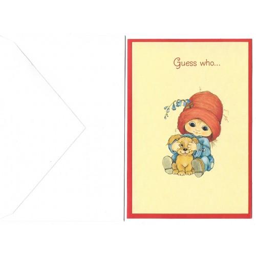 Notecard Antigo Importado MUFFIN 1 Hmk