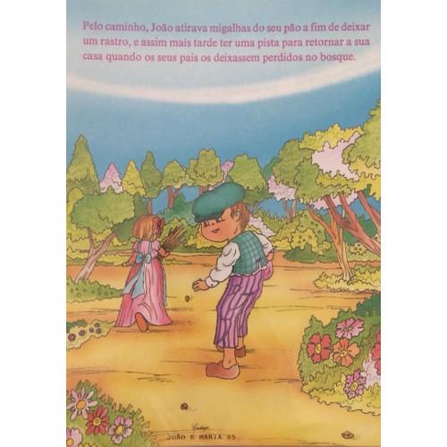 Papel de Carta CARTIUGE Personagens João e Maria 05
