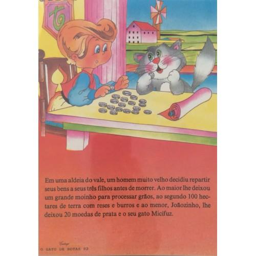 Papel de Carta CARTIUGE Personagens O Gato de Botas 02