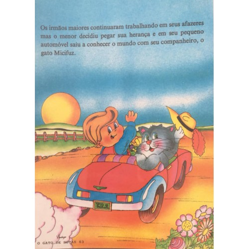Papel de Carta CARTIUGE Personagens O Gato de Botas 03