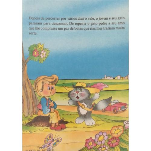 Papel de Carta CARTIUGE Personagens O Gato de Botas 04