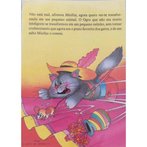 Papel de Carta CARTIUGE Personagens O Gato de Botas 12