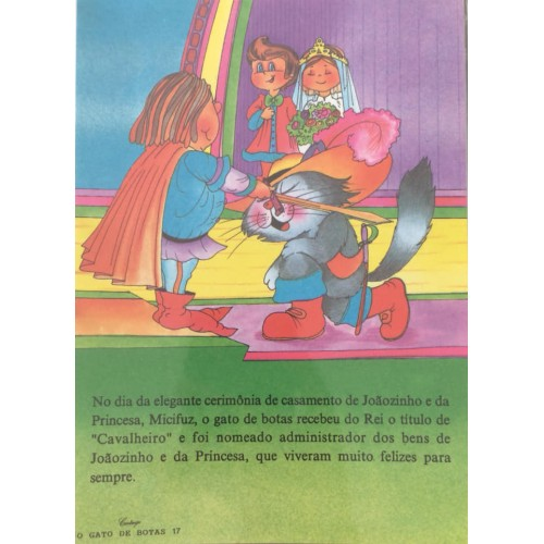Papel de Carta CARTIUGE Personagens O Gato de Botas 17